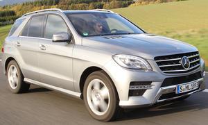 Zugfahrzeuge Mercedes ML