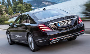 Neues Mercedes S-Klasse Facelift (2017)