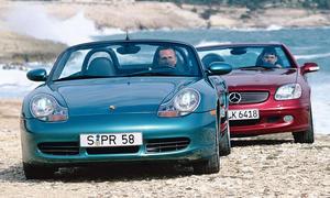 Mercedes SLK 320/Porsche Boxster S: Classic Cars