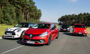Abarth 595 Competizione /Mini Cooper S/Peugeot 208 GTi/Renault Clio R.S.