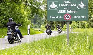 Motorradfahrverbote wegen Lärm