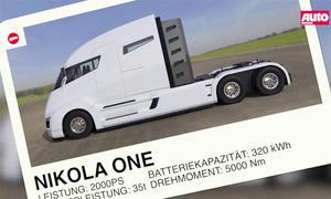 Nikola One E-Truck