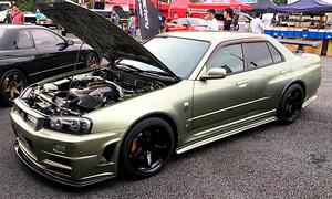 Nissan Skyline Sedan als GT-R (R34)