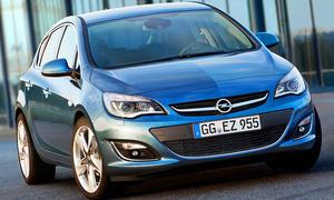 Opel Astra Facelift (2012)