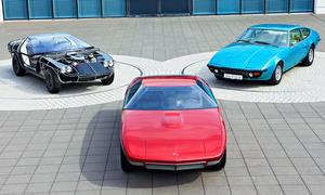 Opel CD/Bitter CD: Classic Cars