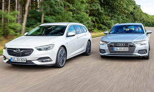 Opel Insignia Sports Tourer/Audi A6 Avant: Test