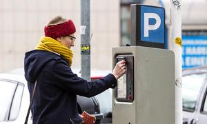 Parkautomat defekt