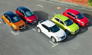 Peugeot 2008/Opel Crossland X/Nissan Juke/Hyundai Kona/Fiat 500X