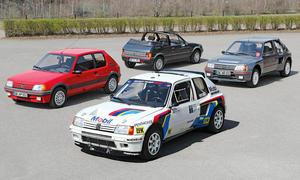 Peugeot 205 GTI/CTI/Turbo 16 & Rallye: Classic Cars