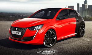 Peugeot 208 GTi: Illustration