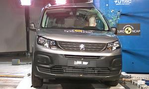 Peugeot Rifter (2018): Crashtest