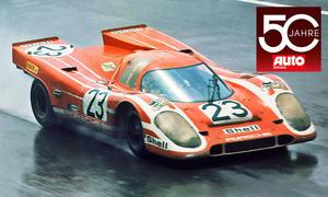Porsche in Le Mans 1970
