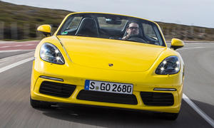 Neuer Porsche 718 Boxster