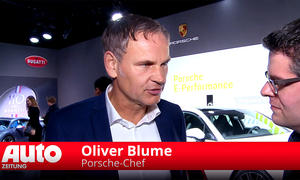 Porsche-Chef Oliver Blume im Interview