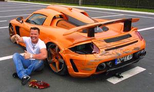 Porsche Gemballa Mirgae GT von Prinz Marcus von Anhalt