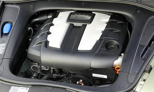 Audi-Dieselmotor im Porsche Cayenne