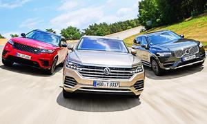 Range Rover Velar/Volvo XC90/VW Touareg