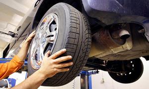 Reifengröße (Auto) ermitteln