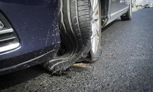 Ein Reifenreparatur-Set ist für den Notfall immer wichtig zu haben