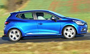 Renault Clio Facelift Test