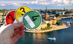 Verbot von Benzin- und Dieselautos in Schweden
