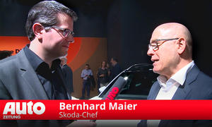 Interview mit Skoda-Chef Bernhard Maier