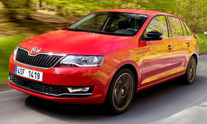 Neues Skoda Rapid Facelift (2017)
