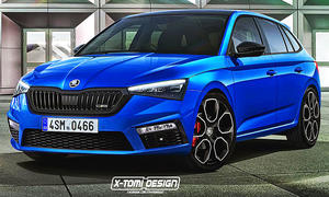 Skoda Scala RS Illustration von X-Tomi Design