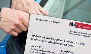 """""""Stadt Klima Köln"""": Falsche Knöllchen gegen SUV"""
