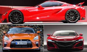 Toyota Supra/Honda NSX/Nissan GT-R