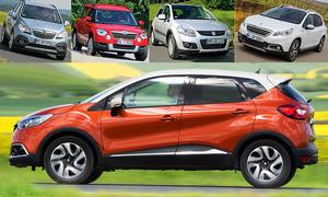 Opel Mokka/Peugeot 2008/Skoda Yeti/Suzuki SX4: Gebrauchtwagen