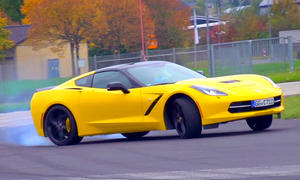 Corvette Stingray: Drift- und Sound-Video zur C7