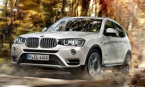 BMW X3 Facelift 2014: Erstes Video zeigt Kompakt-SUV im Alltag