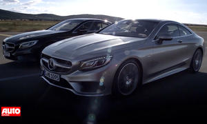 Mercedes S-Klasse Coupé: Video zeigt Luxusliner vor Genf-Premiere