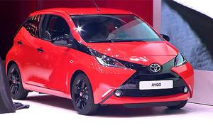 Video: Toyota Aygo auf dem Genfer Autosalon 2014