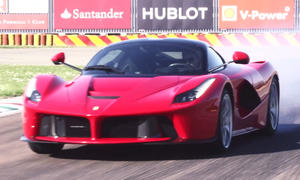 Ferrari LaFerrari: Hybrid-Supersportler im Video
