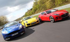 Video: Vom Test auf dem Nürburgring - Supersportler unter sich