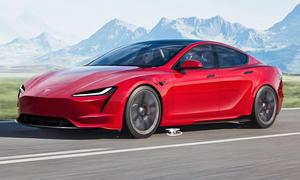 """Tesla Model S von """"TheSketchMonkey"""""""