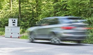 BMW in Radarfalle