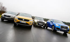 Skoda Karoq, VW T-Roc, Mini Countryman, Audi Q2