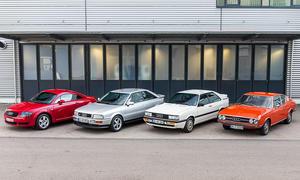 Audi Coupé 100 S/S2/Quattro/TT