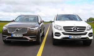 Mercedes GLE/Volvo XC90: Gebrauchtwagen