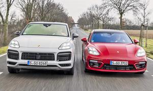 Porsche Cayenne GTS Coupé/Porsche Panamera GTS Sport Turismo