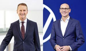 Herbert Diess und Ralf Brandstätter