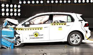 VW Golf 8 (2019) im Crashtest