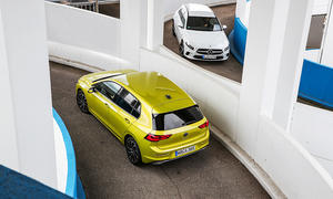 VW Golf eHybrid/Mercedes A 250 e