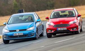 VW Golf/Ford Focus: Gebrauchtwagen kaufen