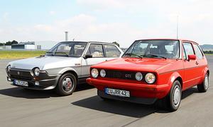 Kaufberatung: Fiat Ritmo 125 TC Abarth & VW Golf GTI Pirelli