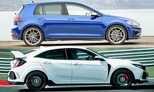 VW Golf R/Honda Civic Type R