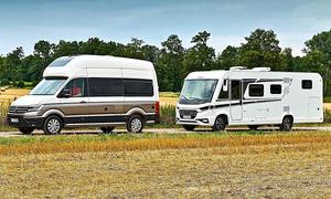VW Grand California/Knaus Live I: Konzeptvergleich